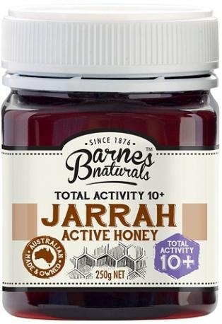 Barnes Naturals Уникальный Мёд Джарра Актив 10+,  250г, Западная Австралия