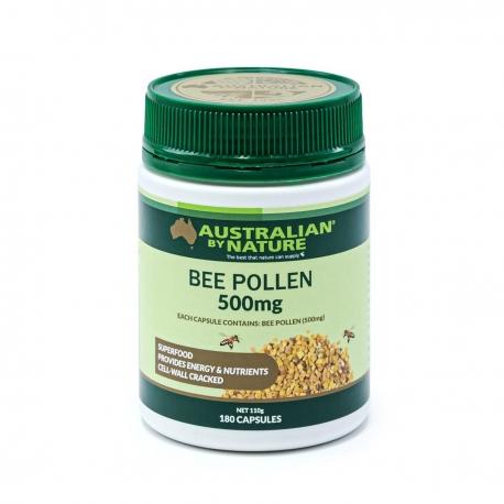 ABN Органик натуральная Пчелиная Пыльца 500мг х 180 капс., Австралия