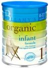 BELLAMY'S Органик молочная смесь на натуральном коровьем молоке для младенцев 0-12 месяцев, 900г, Австралия