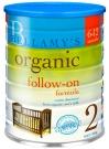 BELLAMY'S Органик молочная смесь на натуральном коровьем молоке для детей 6-12 месяцев, 900г, Австралия