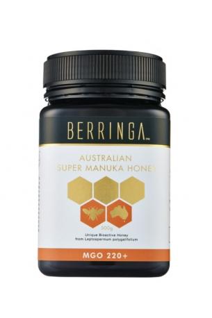 Berringa Мёд Манука антивирусный 250г био-активность MGO 220+, Австралия