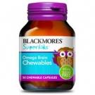 Blackmores Омега-3 детский рыбий жир, 50 шт., Австралия