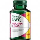 NaturesOwn Натуральные мультивитамины для волос, кожи и ногтей, 120 табл., Австралия