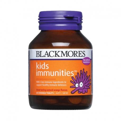 Blackmores Мультивитамины Детские для иммунитета 60 жеват. табл., Австралия