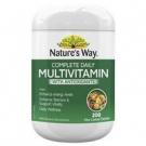 Nature's Way Ежедневный полный комплекс мультивитаминов и антиоксидантов,  200таб., Австралия