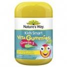 Nature's Way Омега-3 + Мультивитамины для детей от 2-х лет,  50 шт. Австралия