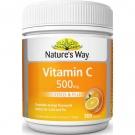 Nature's Way Витамин С защита от вирусов, простуды и гриппа 500мг, 300 табл., Австралия