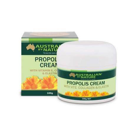 ABN Прополис+Эластин+Морской Коллаген Крем для зрелой кожи лица 100мл, Австралия