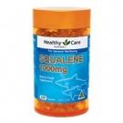 Healthy Care Акулий Сквален - жир из печени акулы, источник Омега2+Омега3, 1000мг х 200капс., Австралия