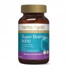 HerbsofGold Супер Брахми 6000, 60 табл., Австралия