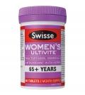 Swisse Ультивит премиум Мультивитамины женские 65+лет, 60 табл., Австралия