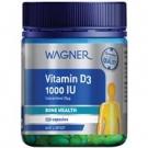WAGNER Витамин D3 1000IU  премиум, 250 капс.,Н.Зеландия